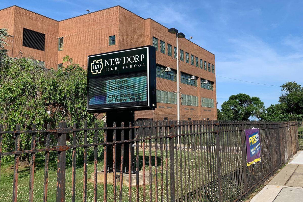 New Dorp High School.