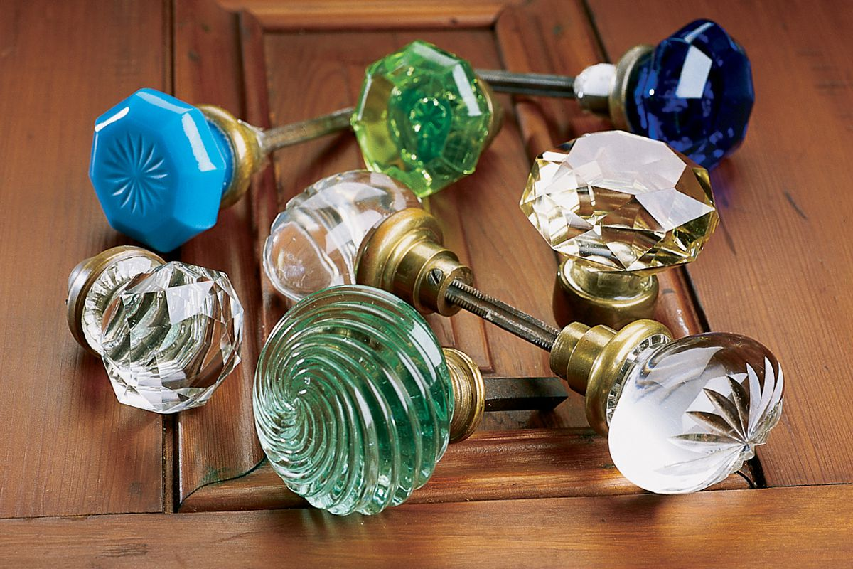 The Beauty Of Glass Door Knobs This Old House