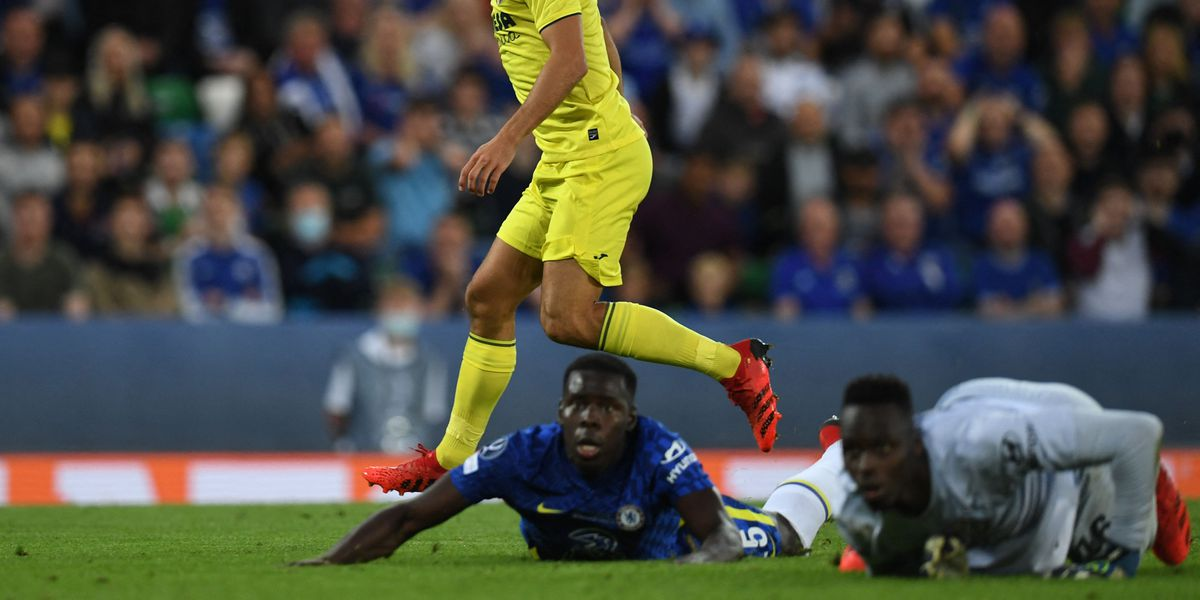 Watch: Mendy makes up for unfortunate slip with amazing save against Villarreal