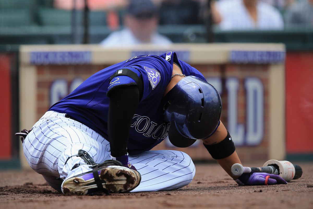 From foul balls hitting him to finger issues, Cargo hasn't been able to stay healthy in 2013 and it has hurt the Rockies.