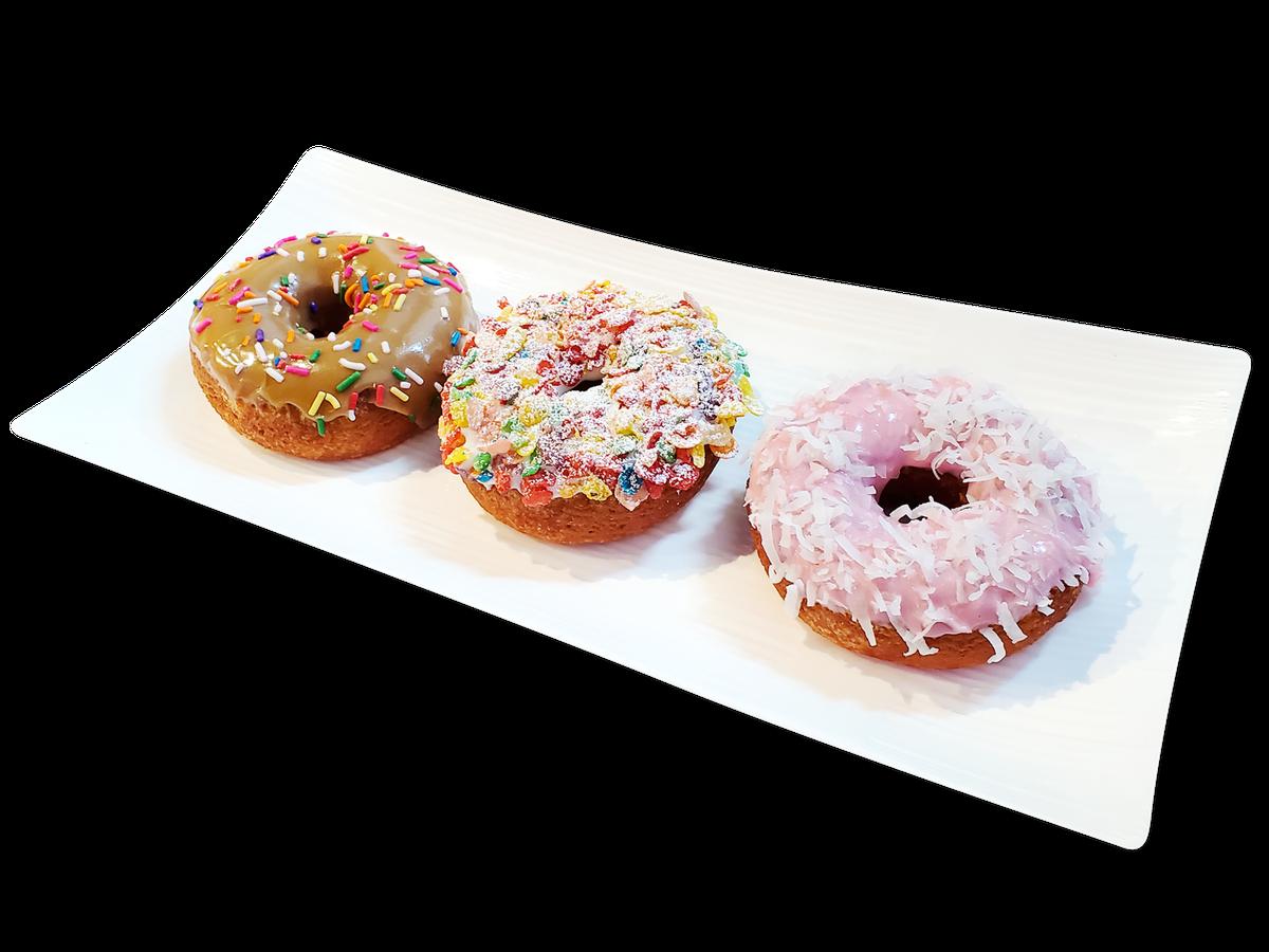 Mochi doughnuts from Pike Kitchen