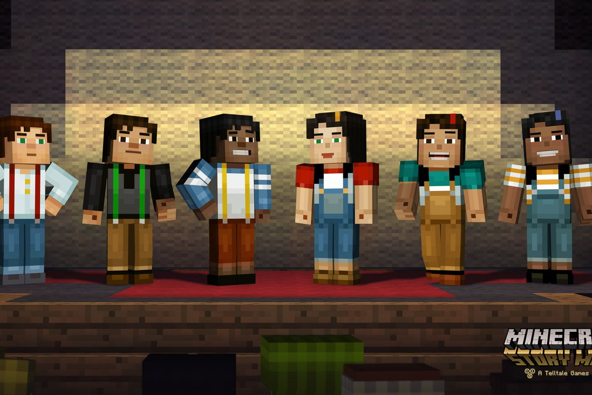 Minecraft Story Mode Features A First For Telltale Letting You Pick Your Character Polygon
