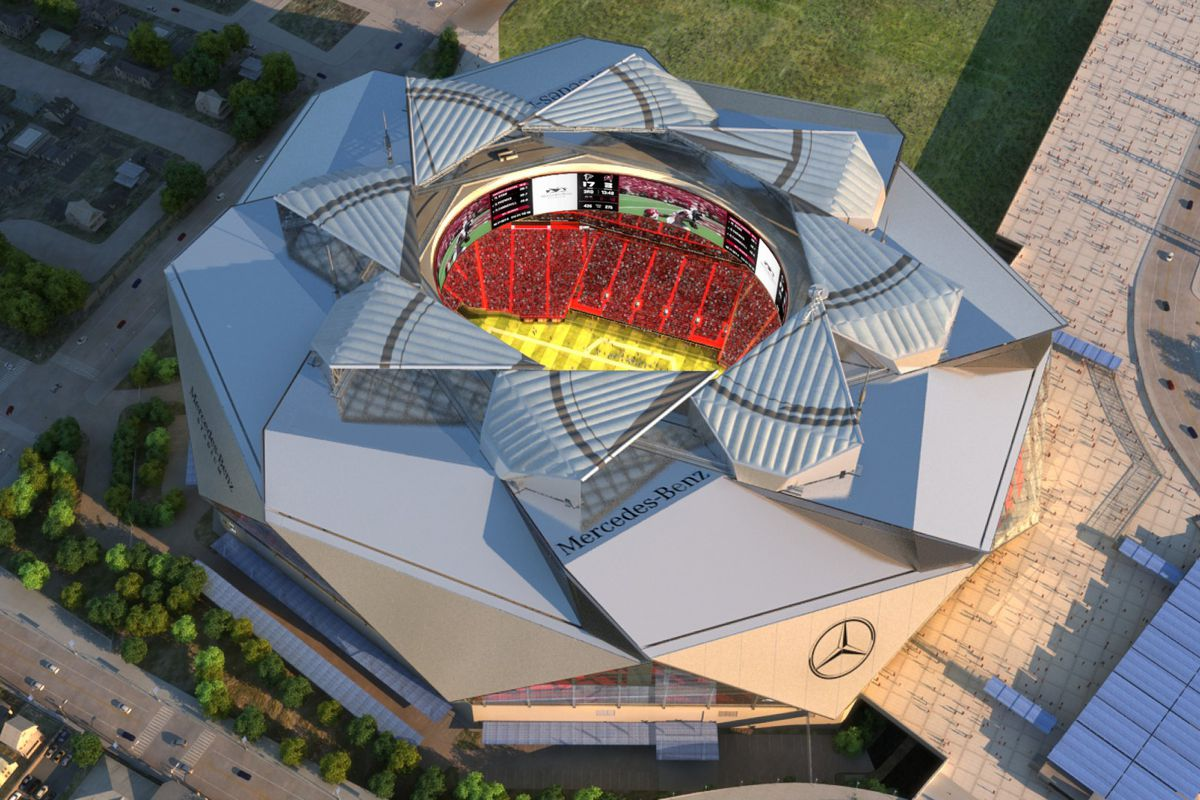 According to reports from both the Atlanta Business Chronicle and 11 Alive News, Mercedes-Benz Stadium could have a major issue with its retractable roof.