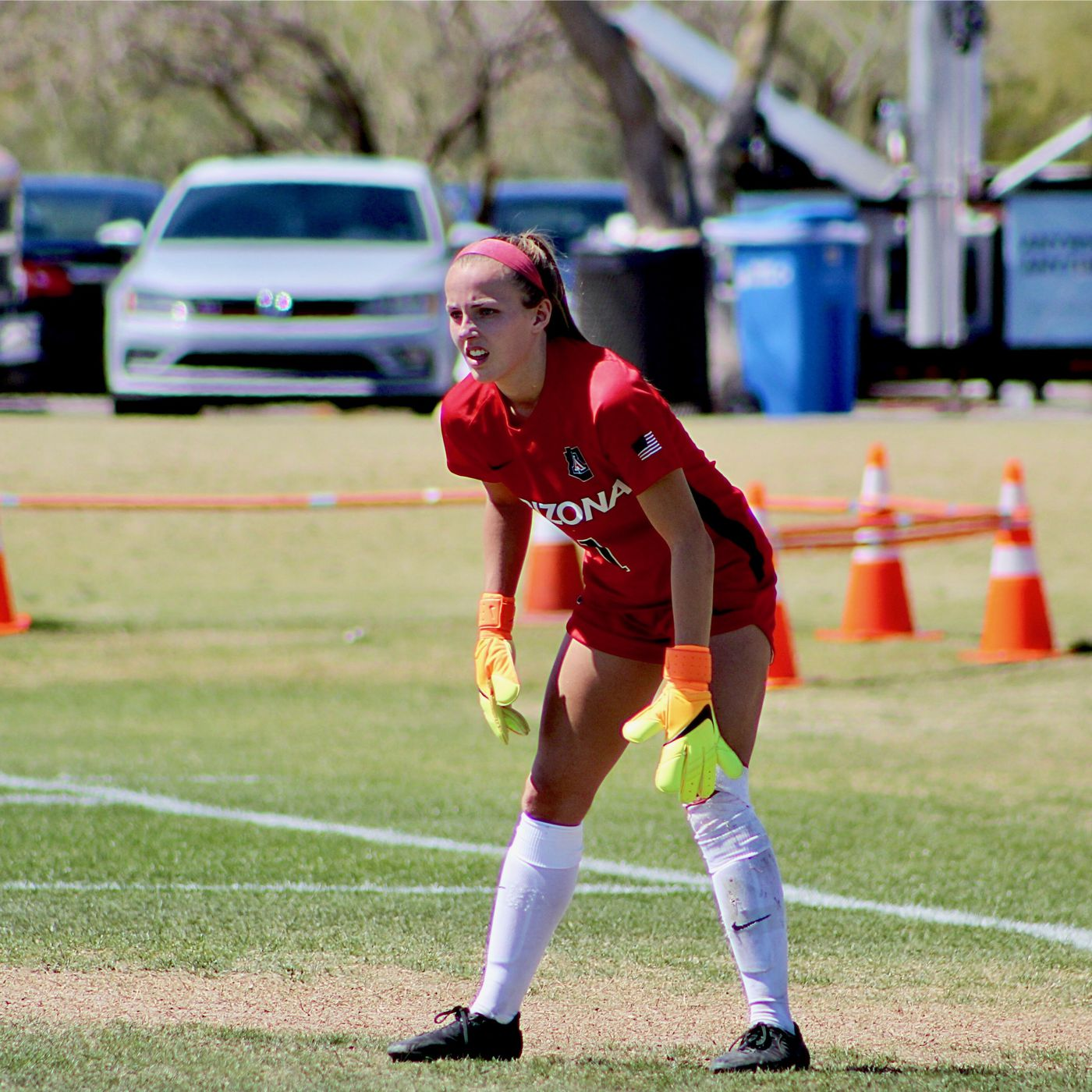 various colors 2e904 3bfb6 Arizona soccer falls to BYU in first game of spring full of ...