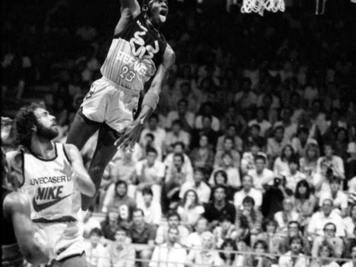 The Time Michael Jordan Shattered A Backboard During A Game In