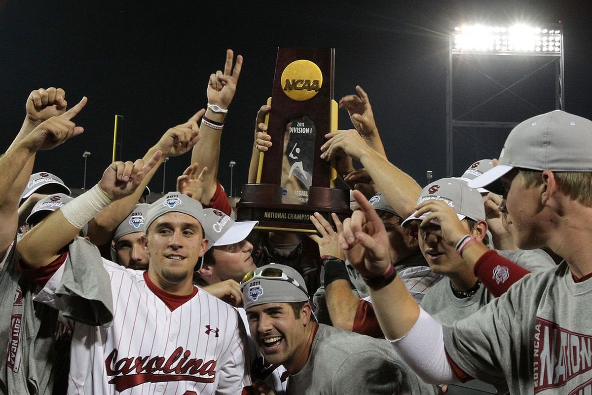 South Carolina aims on a three-peat this year in Omaha.