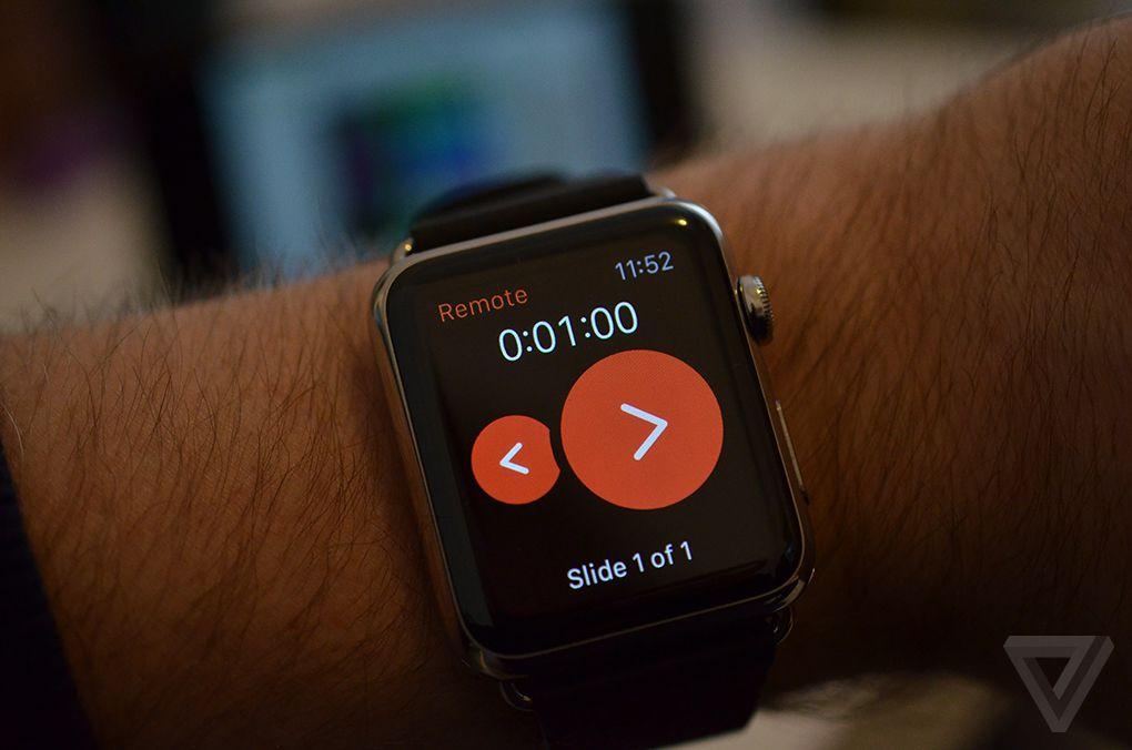 PowerPoint Apple Watch 2