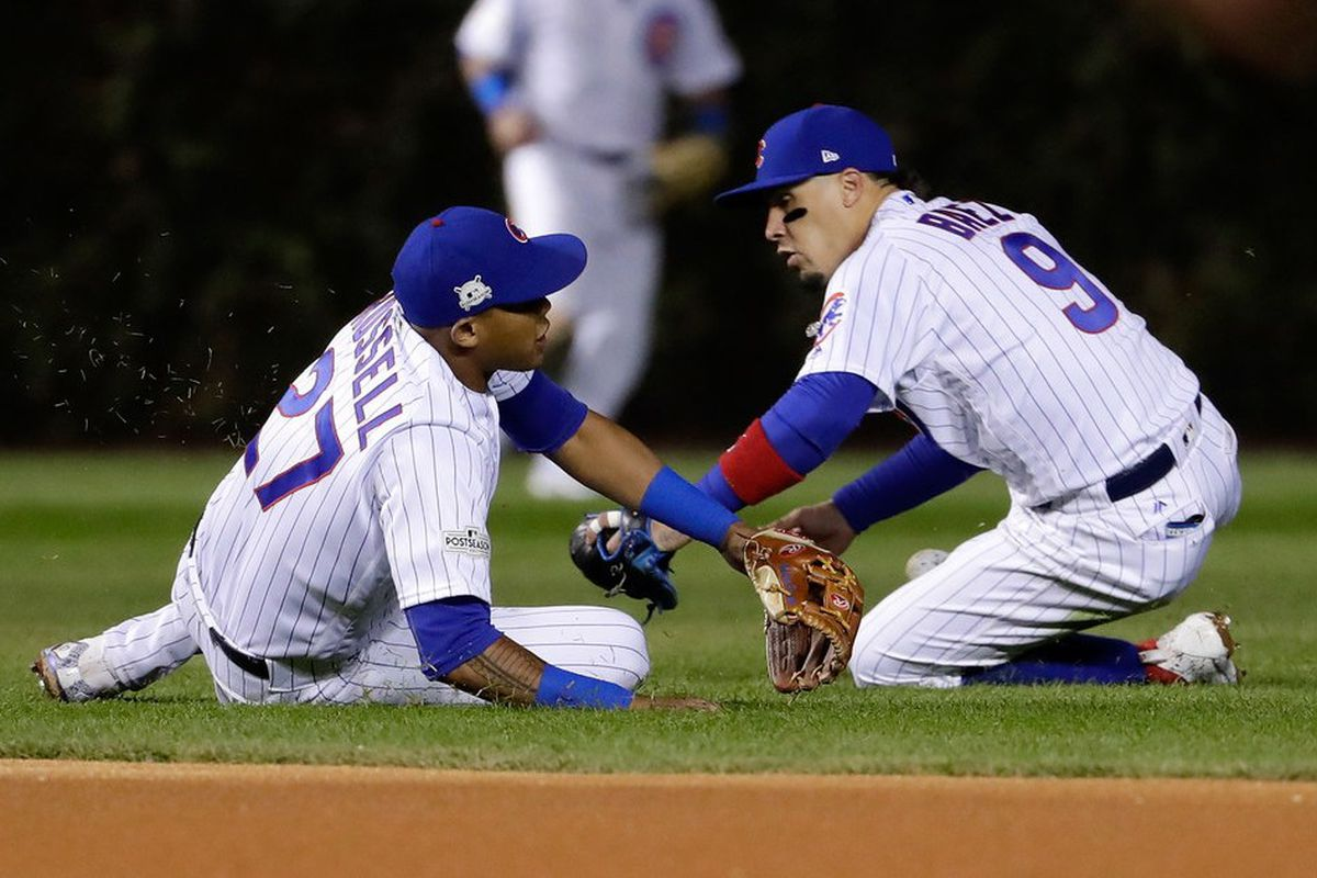 eaf19caf8 Let's face it, Addison Russell and Javy Baez are both pretty good. (Jamie  Squire/Getty Images)