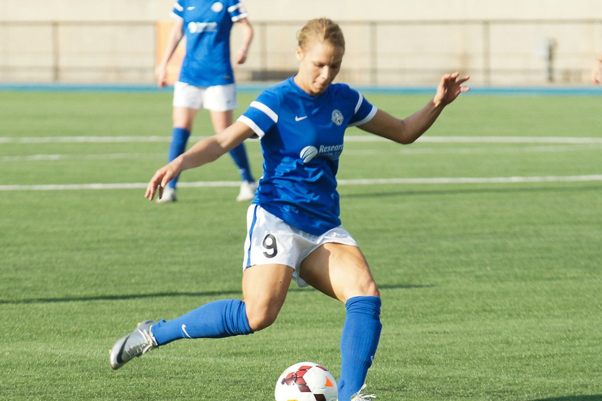 Mathias' first assist of the year helped propel FC Kansas City to their fifth straight win.