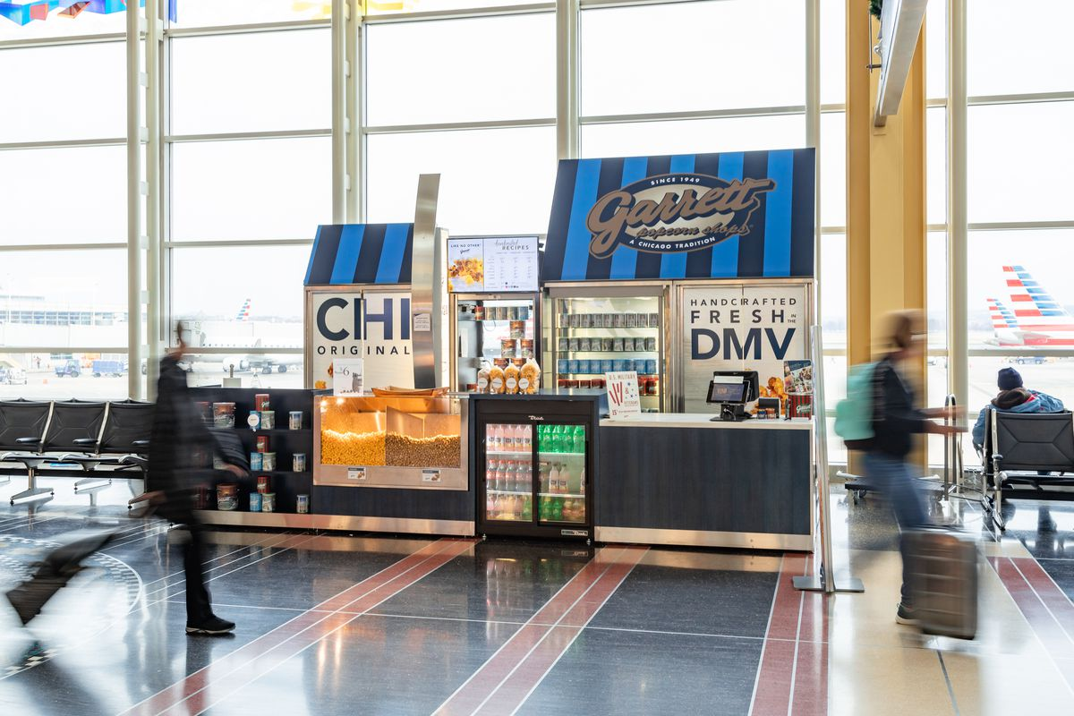 Where to Eat and Drink at Ronald Reagan Washington National Airport