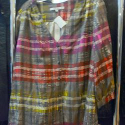 Trink Turk new with tags blouse, $50