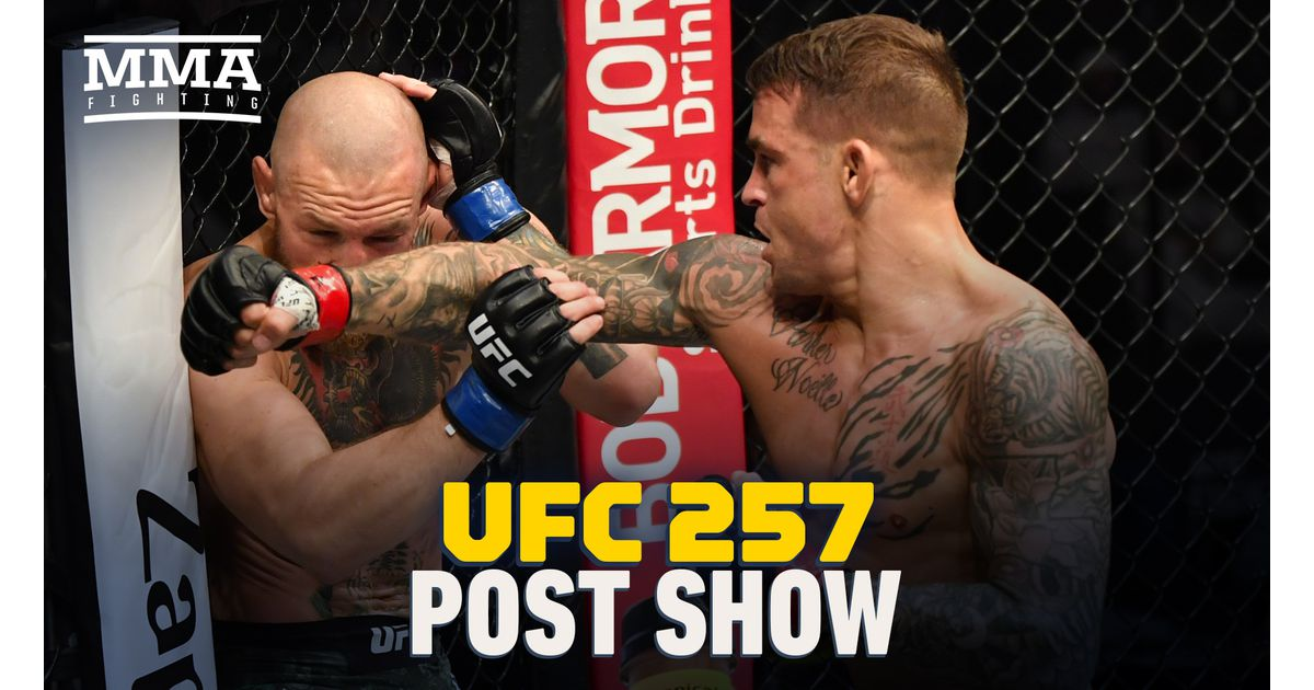Video: UFC 257 post-fight show