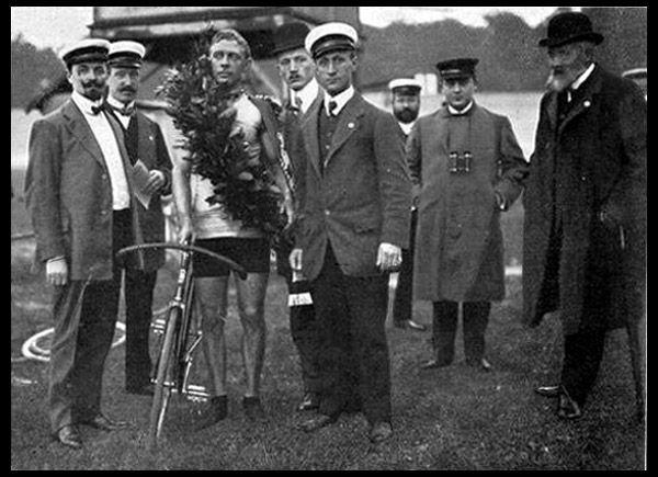 Bobby Walthour at the Großer Preis der Stadt Hannover, September 26, 1909