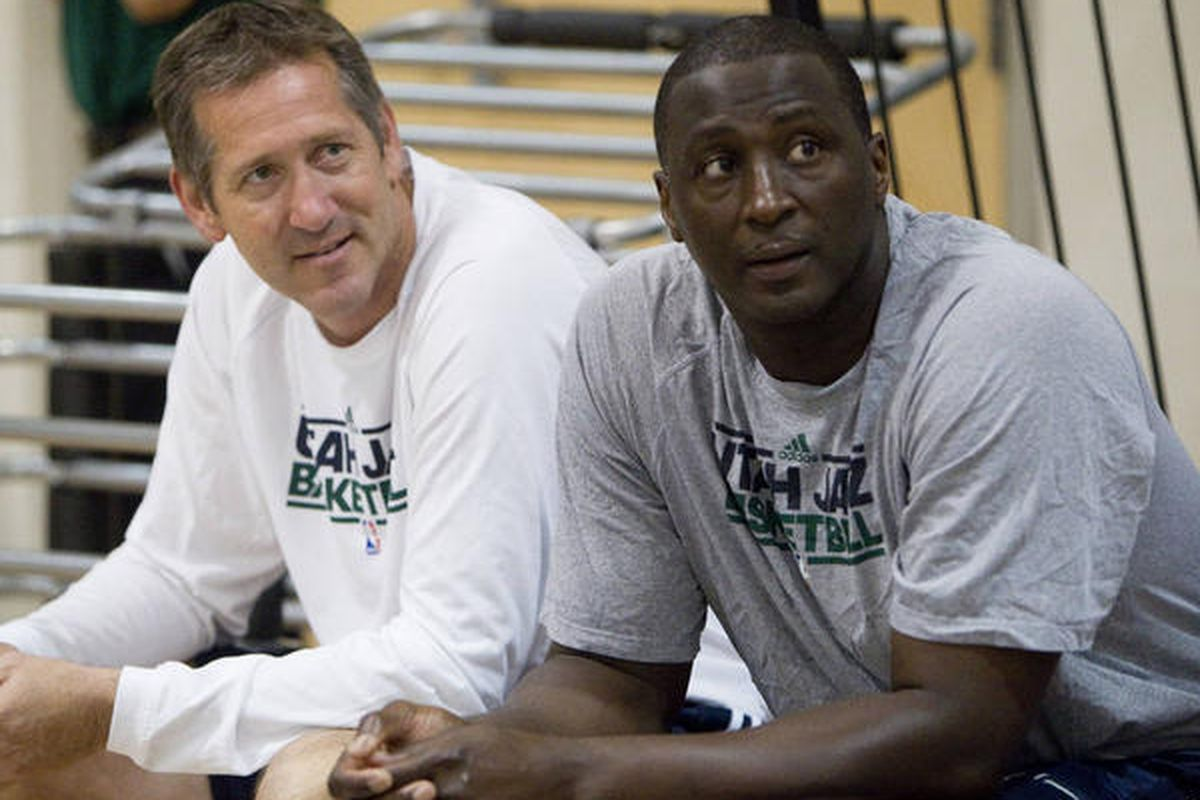Tyrone Corbin and Jeff Hornacek face similar challenges this year.