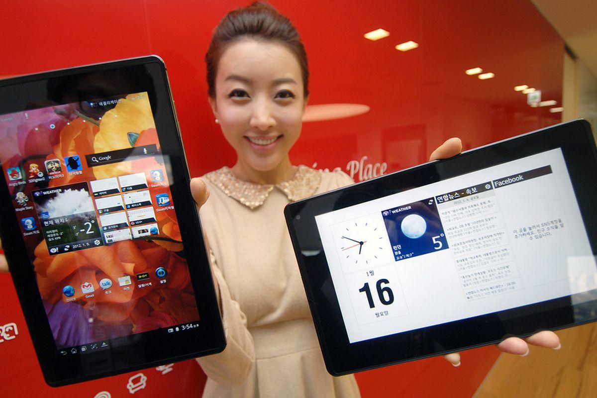 Gallery Photo: LG Optimus Pad LTE press images