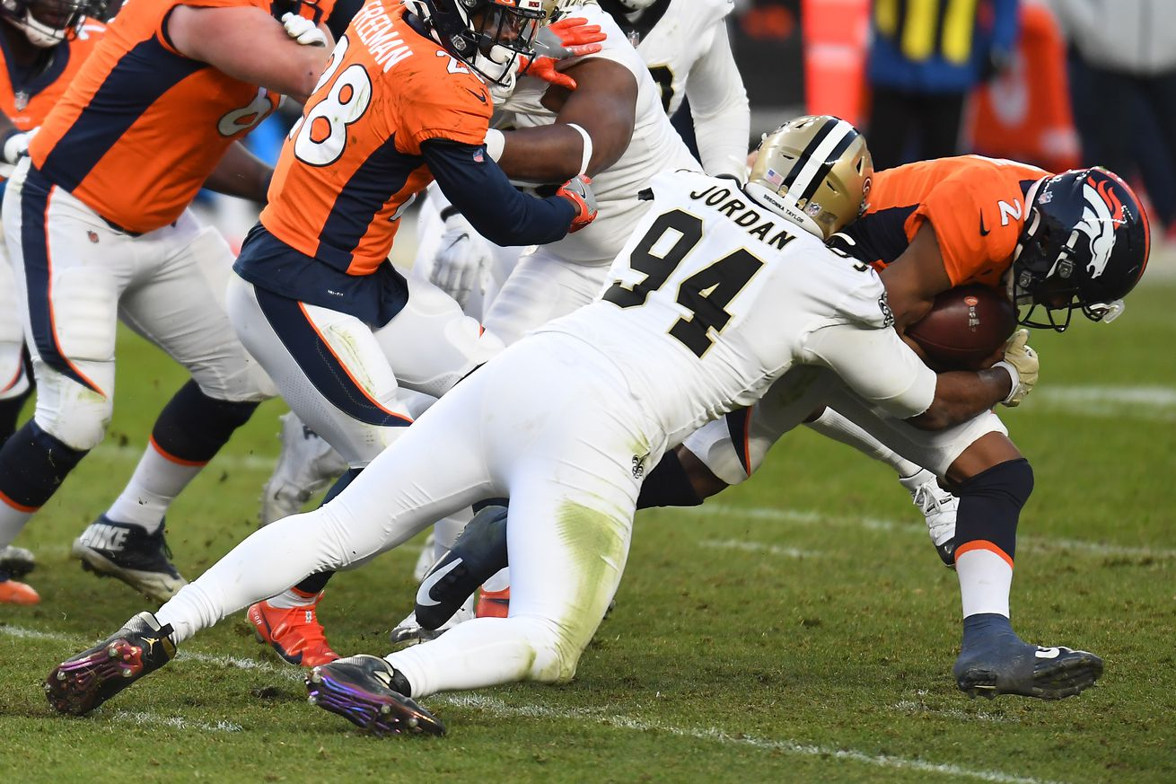 NFL: New Orleans Saints at Denver Broncos