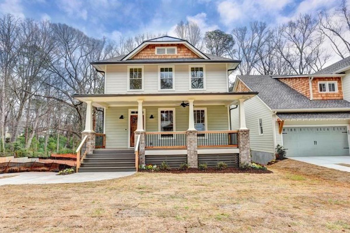 This newly built Ormewood Park Craftsman home recently underwent a rare price reduction to $719,900.