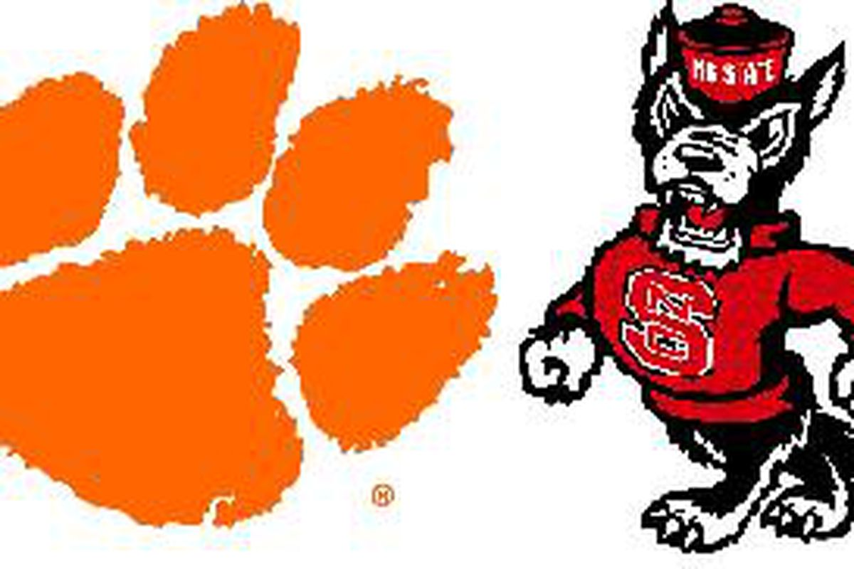 Historical Eye Of The Tiger Clemson Nc State Shakin The