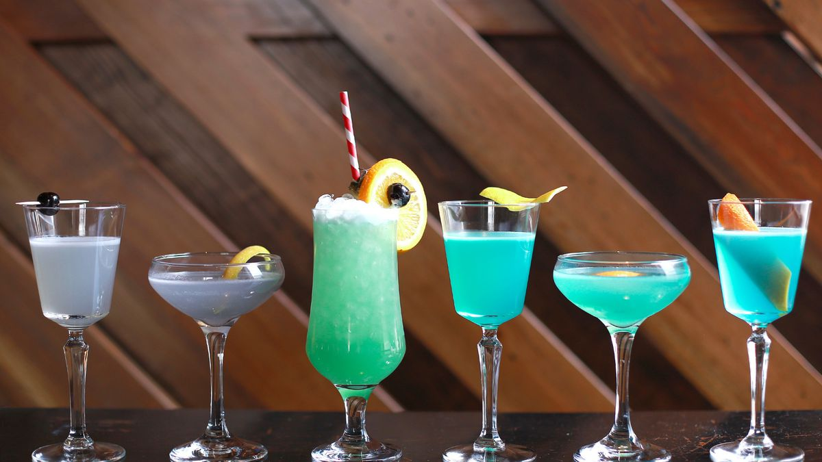 A colorful history of the blue drink.