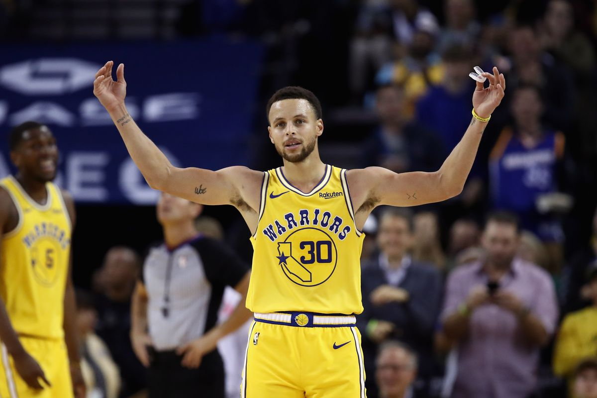 bf129930143 Stephen Curry scored 51 points in 3 quarters. Here are the 12 most ...