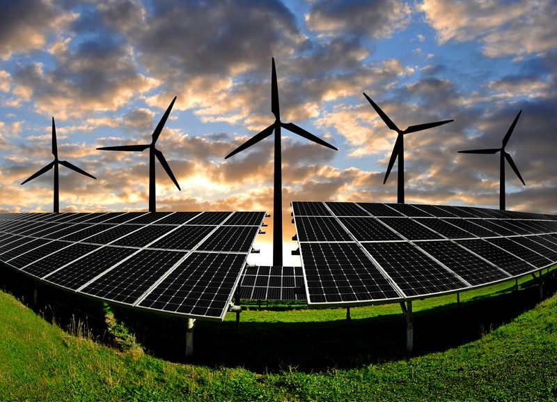 wind-solar Solar and wind are coming. And the power sector isn't ready.