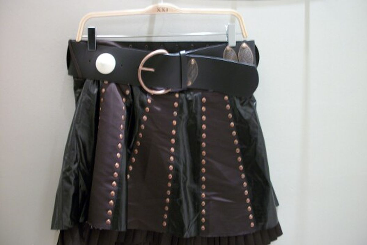 """Online, they call this badboy the """"Warrior Skirt."""""""
