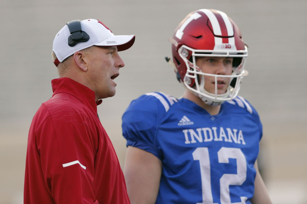 COLLEGE FOOTBALL: APR 12 Indiana Spring Game