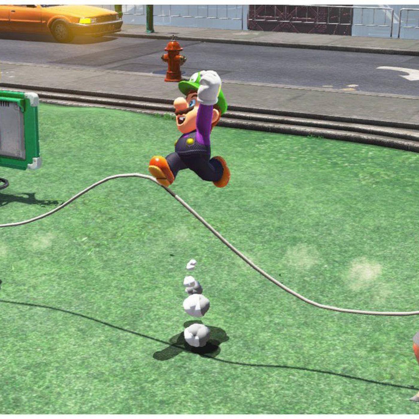 Super Mario Odyssey glitch lets players break jump-rope