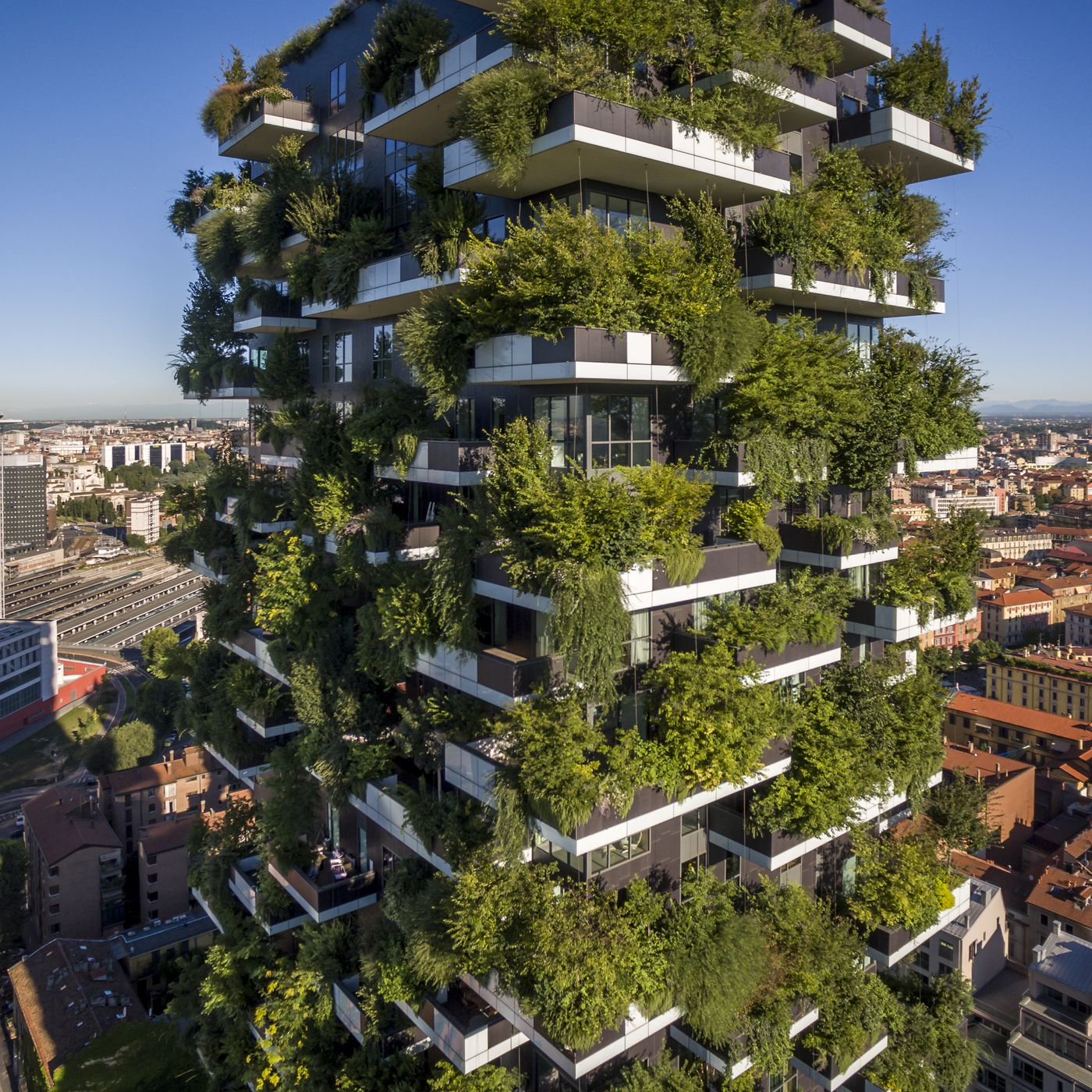 Vertical forests may help solve climate change and housing