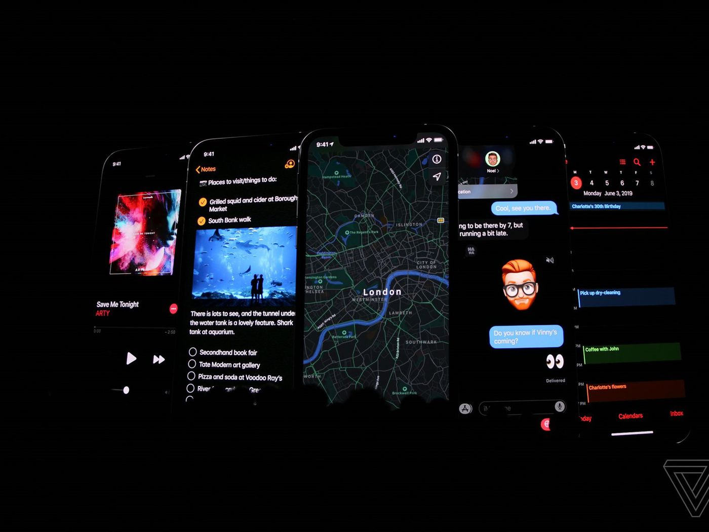 Dark mode is coming to iOS 13 - The Verge