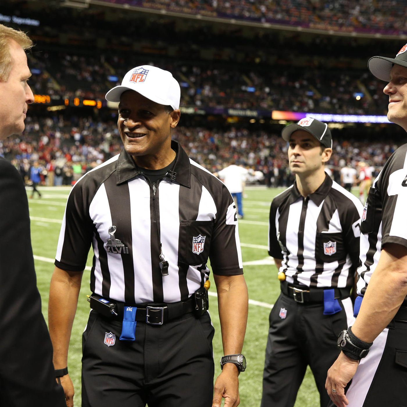 Referees Nfl Vs Other Major Sports Windy City Gridiron