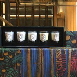 5-candle votive set, $50