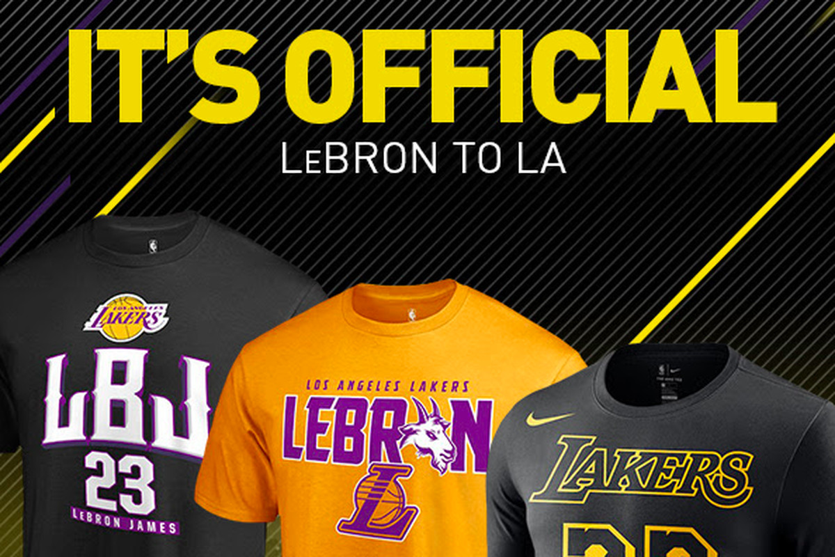 214bf35fc The NBA had to stop selling LeBron James jerseys because he hasn t ...
