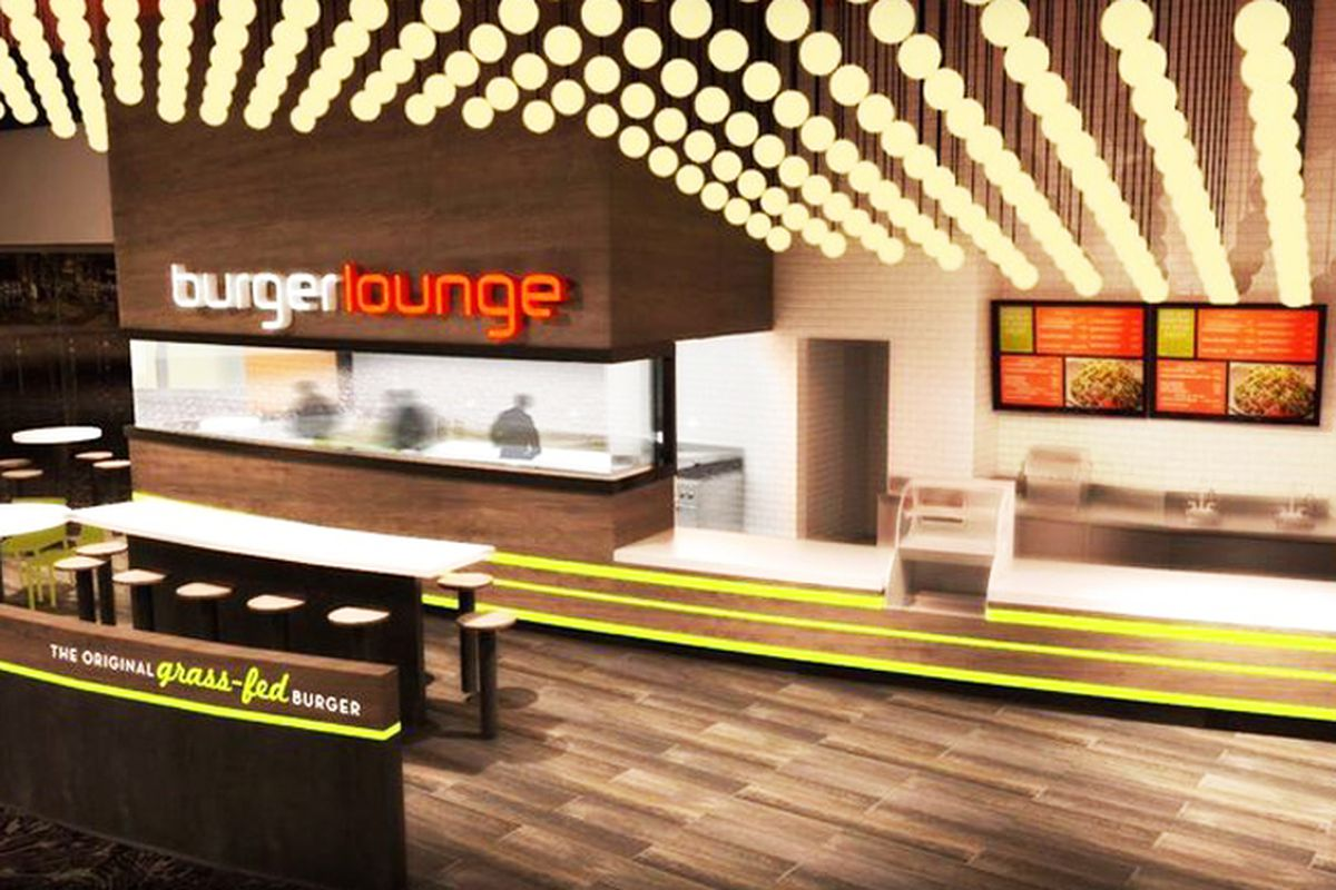 Burger Lounge at Aria rendering