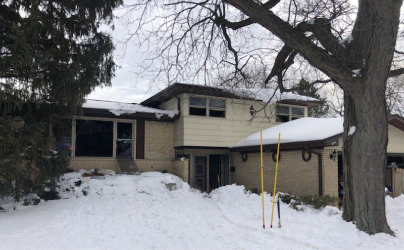 Arligton Heights home caught on fire Feb. 4, 2021.