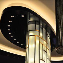 The lighting has brightened the whole casino floor area.
