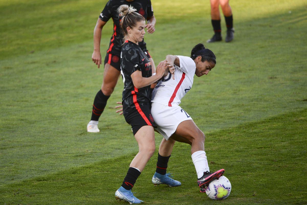 SOCCER: OCT 10 NWSL - Portland Thorns FC at OL Reign