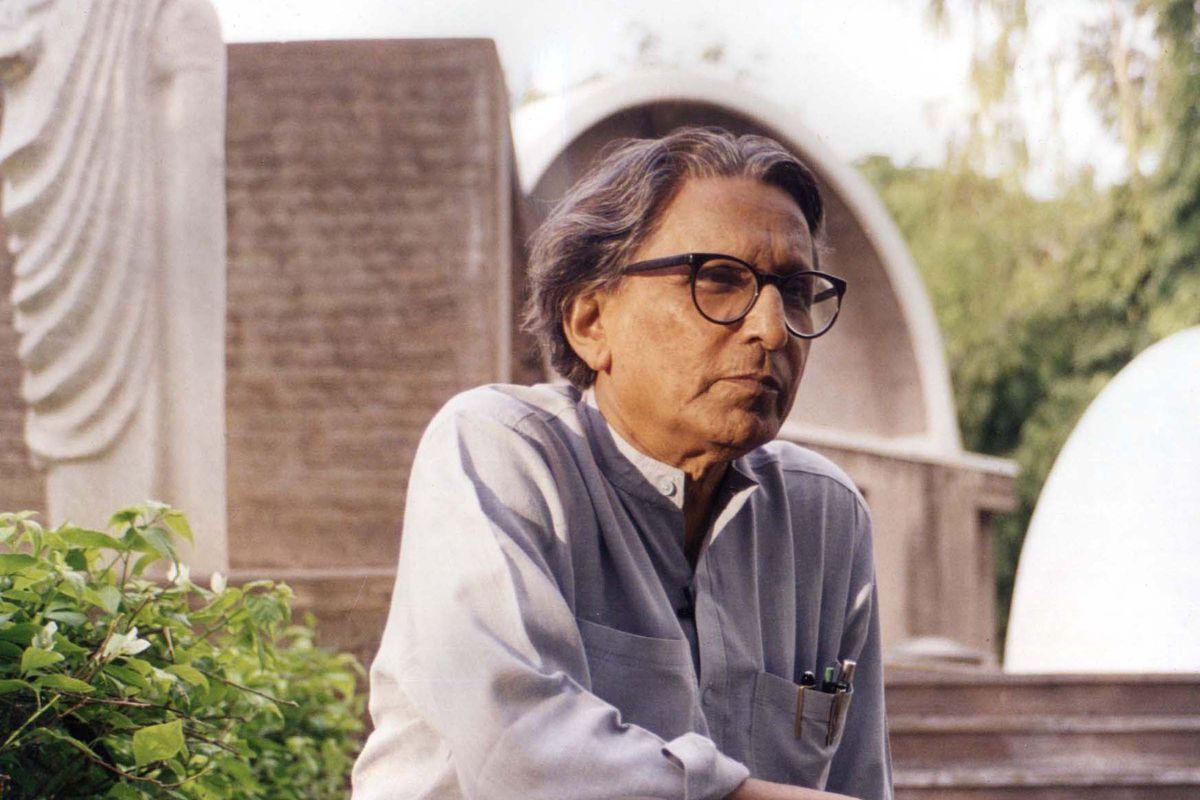 2018 Pritzker Prize laureate Balkrishna Doshi.