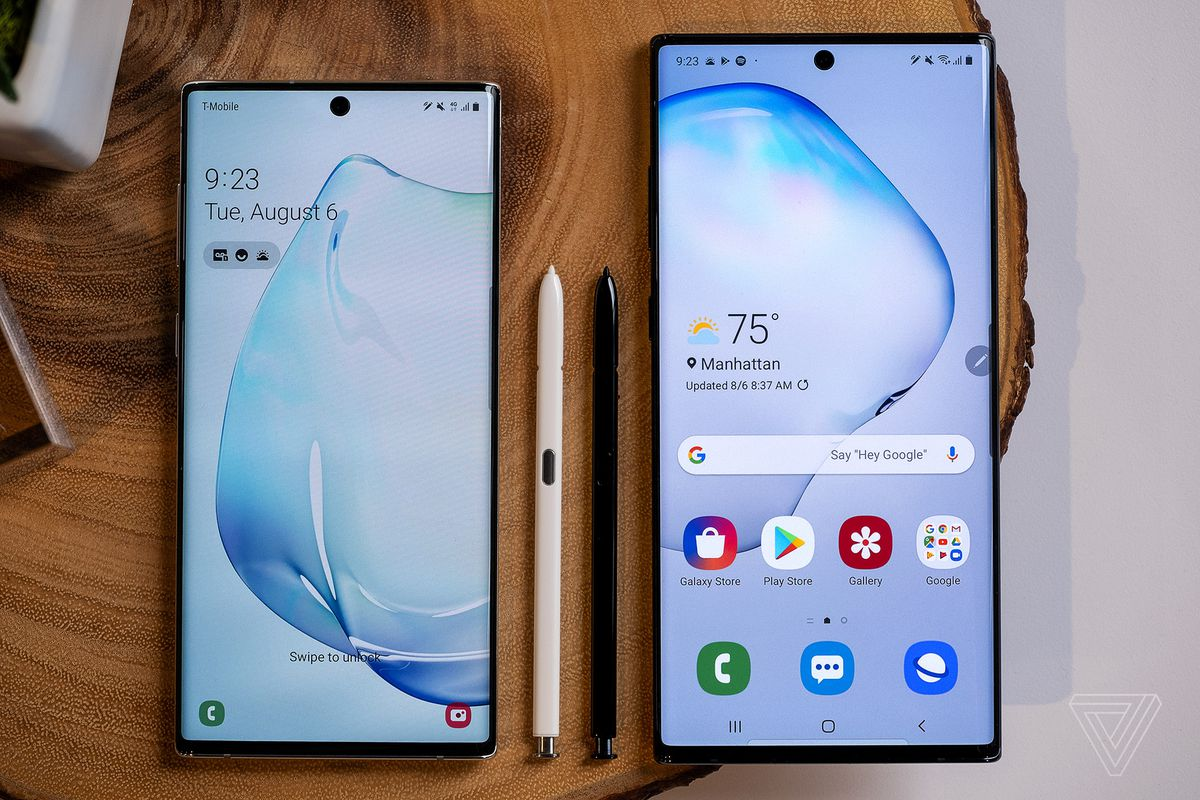 Samsung Galaxy Note 10: two sizes, new S Pen, and DeX on