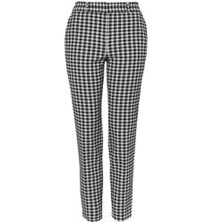 Add a little bit of nostalgia to your spring wardrobe with these tailored gingham trousers that look like they were made for a '50s babe.