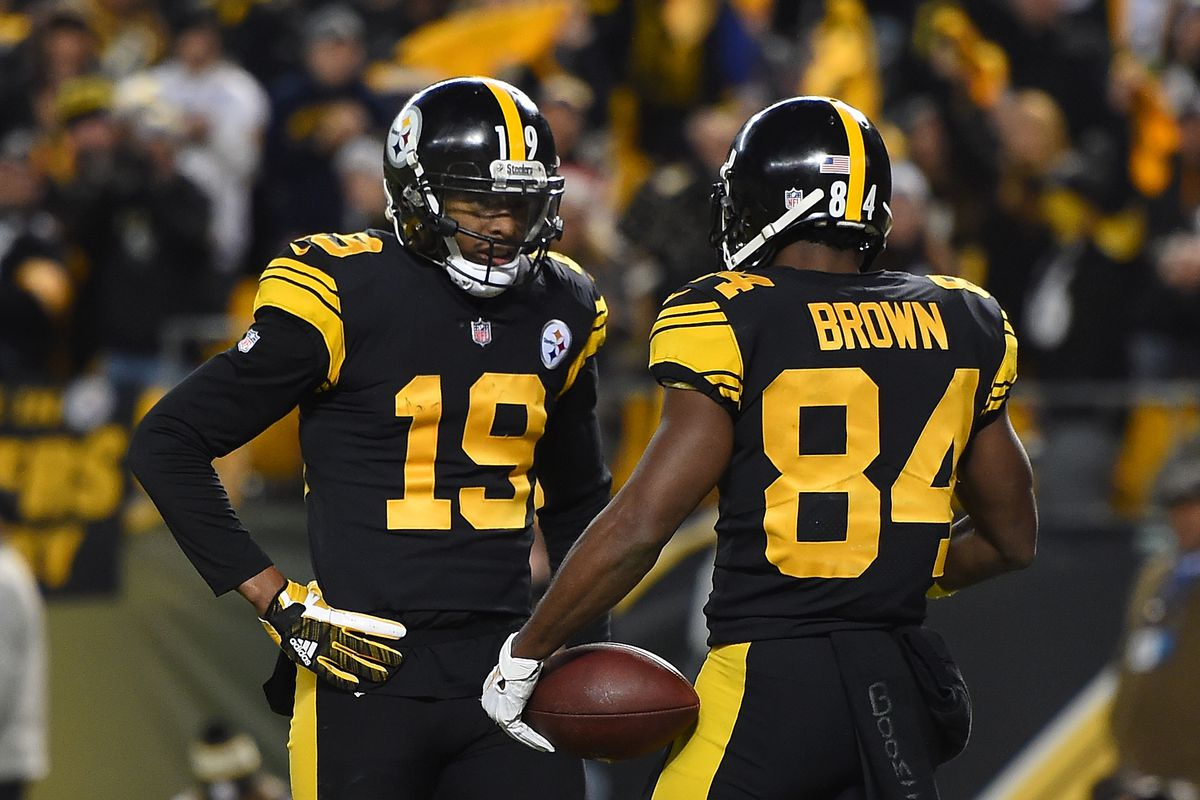 sports shoes 801f8 63f19 Steelers JuJu Smith-Schuster replaces Antonio Brown in the ...