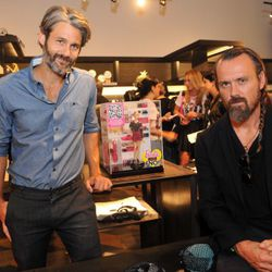 Scott Mackinlay Hahn and Rogan Gregory with Barbie on FNO.