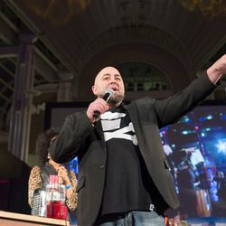 Duff Goldman of Ace of Cakes.