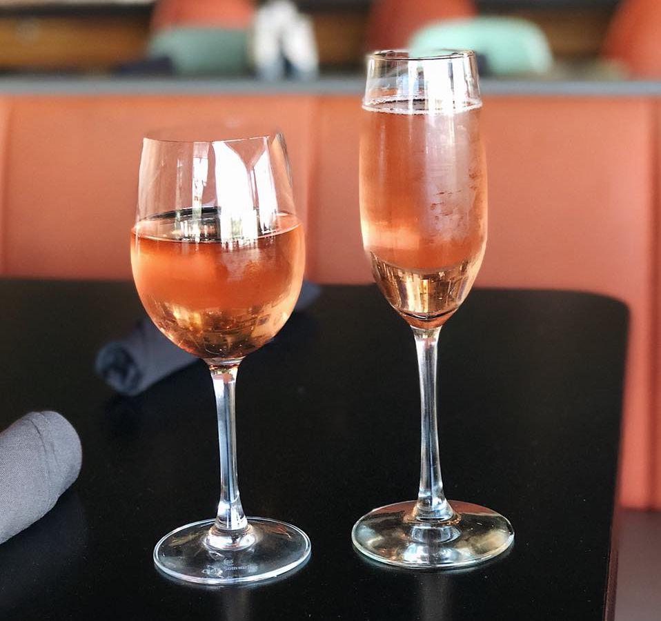 Rosés at 24 Diner