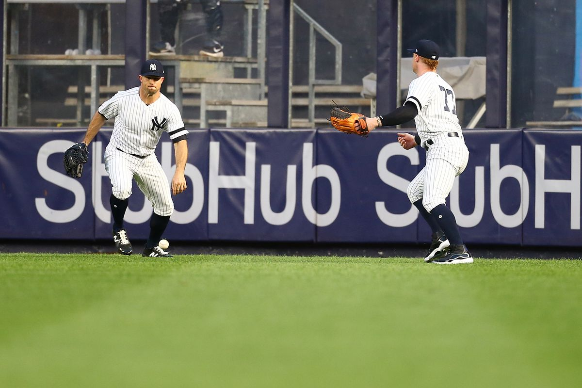 The Yankees have a decision to make in left field