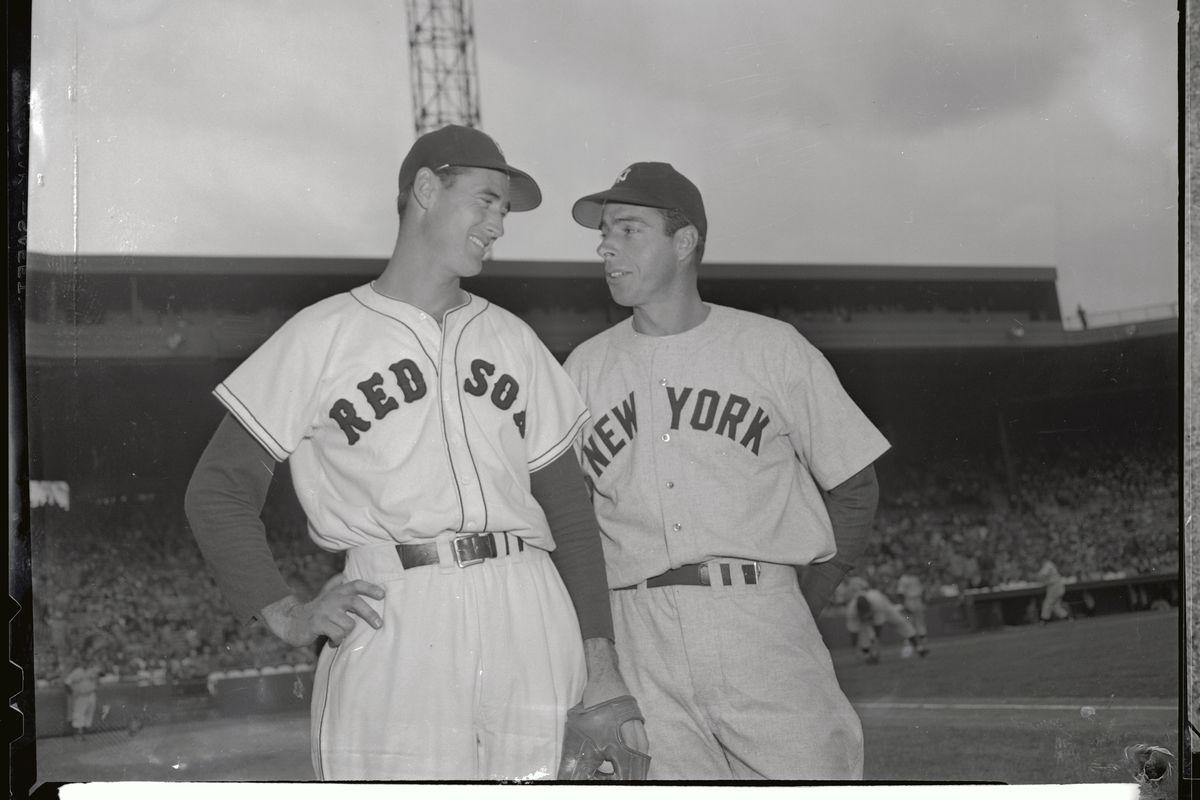 Joe DiMaggio and Ted Williams