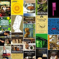 """<a href=""""http://eater.com/archives/2012/08/22/eaters-fall-2012-cookbook-food-book-preview-part-1.php"""">Eater's Fall 2012 Cookbook & Food Book Preview, Part 1</a> and <a href=""""http://eater.com/archives/2012/08/22/eaters-fall-2012-cookbook-food-book-preview-"""
