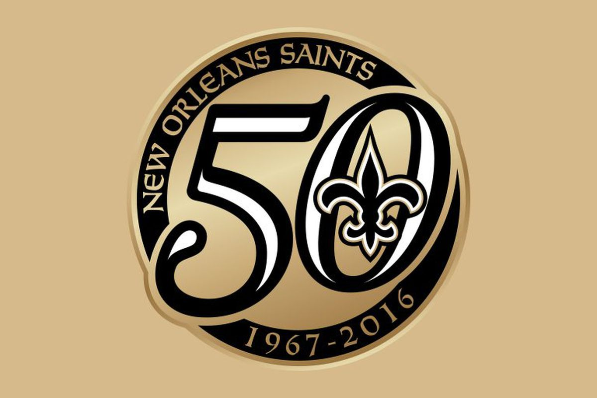 The Saints unveiled their 50th anniversary logo earlier this year