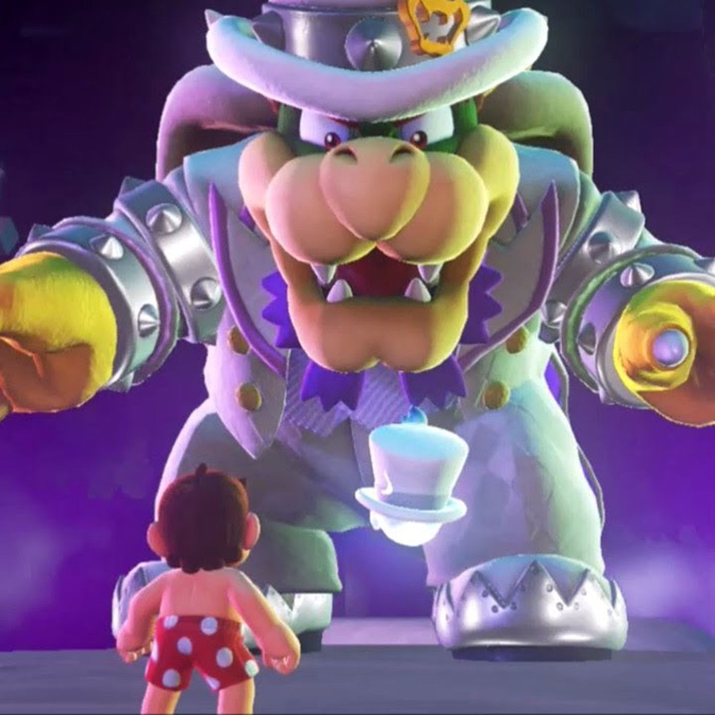 Bowser Reacts To All Of Mario S Outfits In Super Mario