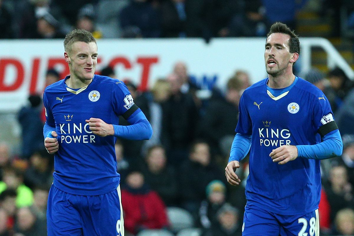 Can Leicester reclaim top spot this weekend? Vardy and Fuchs will have their say!